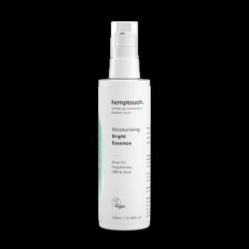 Cosmétique Essence brillante hydratante chanvre et CBD - Hemptouch