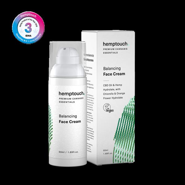 Cosmétique Crème purifiante pour le visage chanvre et CBD - Hemptouch