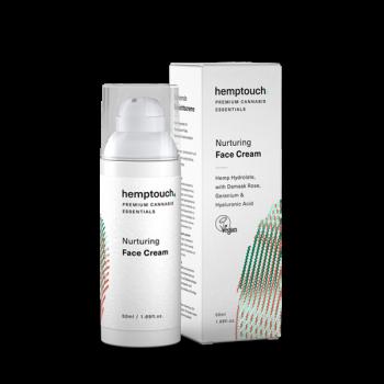 Cosmétique Crème nourrissante pour le visage chanvre et CBD - Hemptouch