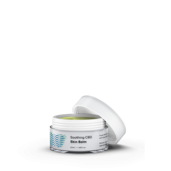 Cosmétique Baume apaisant pour la peau à l'huile de chanvre et CBD - Hemptouch