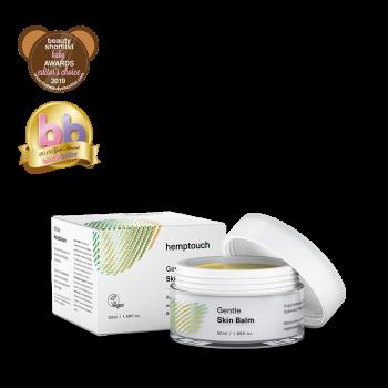 Cosmétique Baume doux pour la peau à l'huile de chanvre - Hemptouch