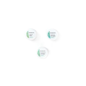 Cosmétique Kit d'échantillons de baumes pour la peau - Hemptouch