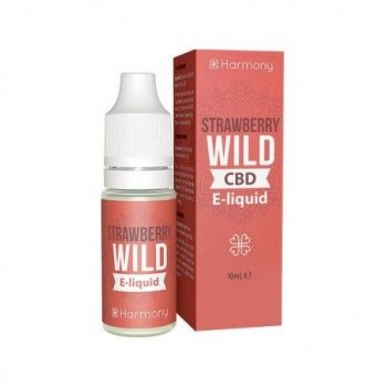E-Liquide Harmony - Eliquid CBD - Strawberry Wild - 10ml